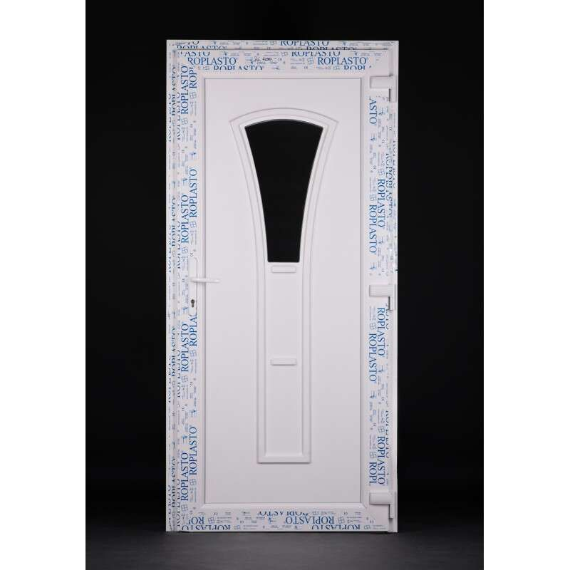 Amazon Plastic Front Door 98x208cm # White