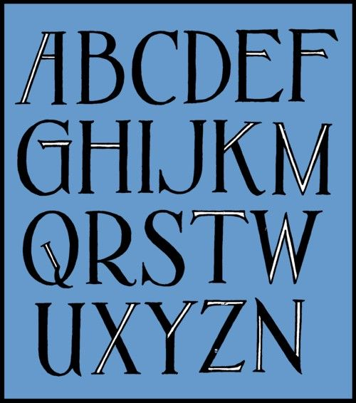 Most of my alphabets are not yet finished and neither do they have definitive names yet. This goes under the name Fireplace.