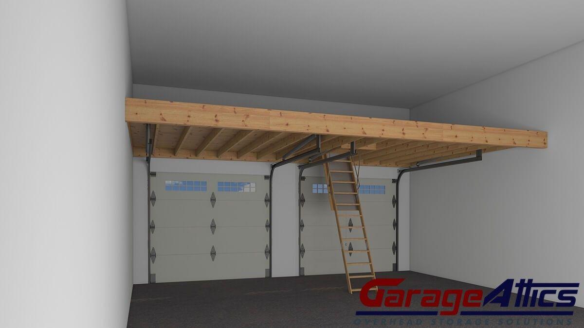 Garage organization services overhead garage storage