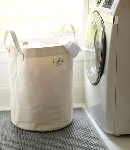Canvas Laundry Tote Free Shipping At L L Bean Laundry Tote Canvas Laundry Bag Laundry