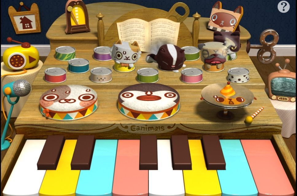 Canimals KeyboDrums (4 canimals effect)
