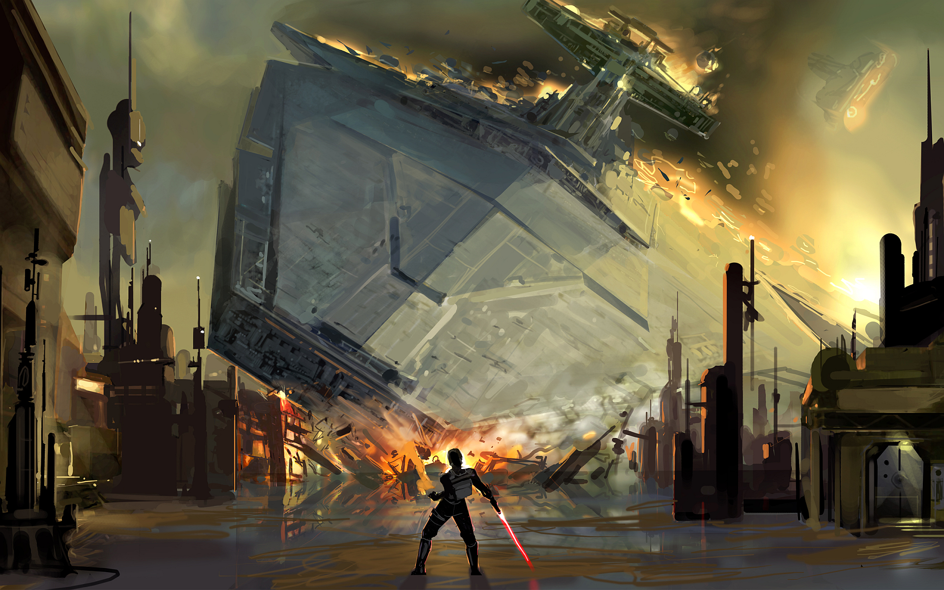 The Power Of The Force Star Wars Spaceships Star Wars Wallpaper Star Wars