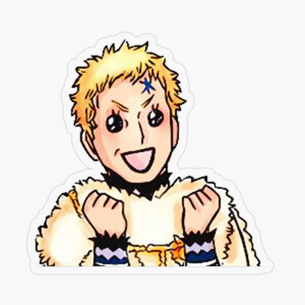 Get My Art Printed On Awesome Products Support Me At Redbubble Rbandme Https Www Redbubble Com I Sticker Juli In 2020 Black Clover Manga Black Clover Anime Clover He his magic is the ability to control time. pinterest