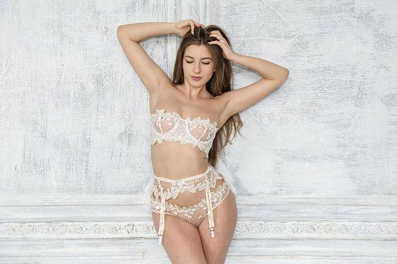 31508087f326 Lace Garter Belt, Wedding Garter Belt, Suspender Belt, White Garter Belt, Lace  Lingerie, Sexy Linger