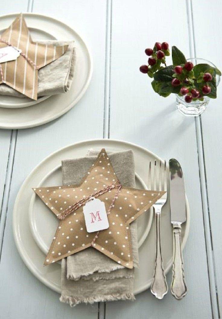 Scandinavianchristmastablepaperstars - Home Decorating Trends - Homedit