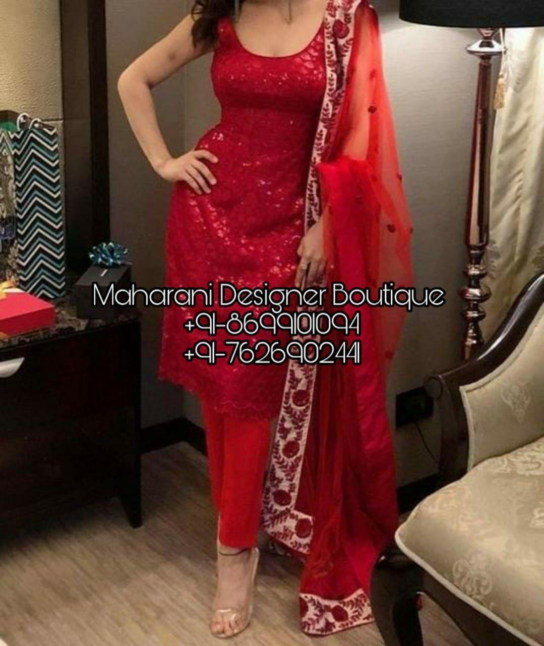 Punjabi Boutique Suit   Maharani Designer Boutique