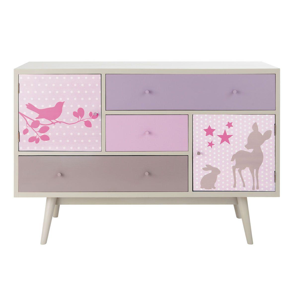 commode enfant vintage cassandre pour elle en 2018. Black Bedroom Furniture Sets. Home Design Ideas