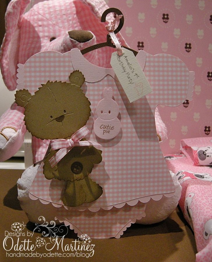 adorable for a girls baby shower Invitations Pinterest
