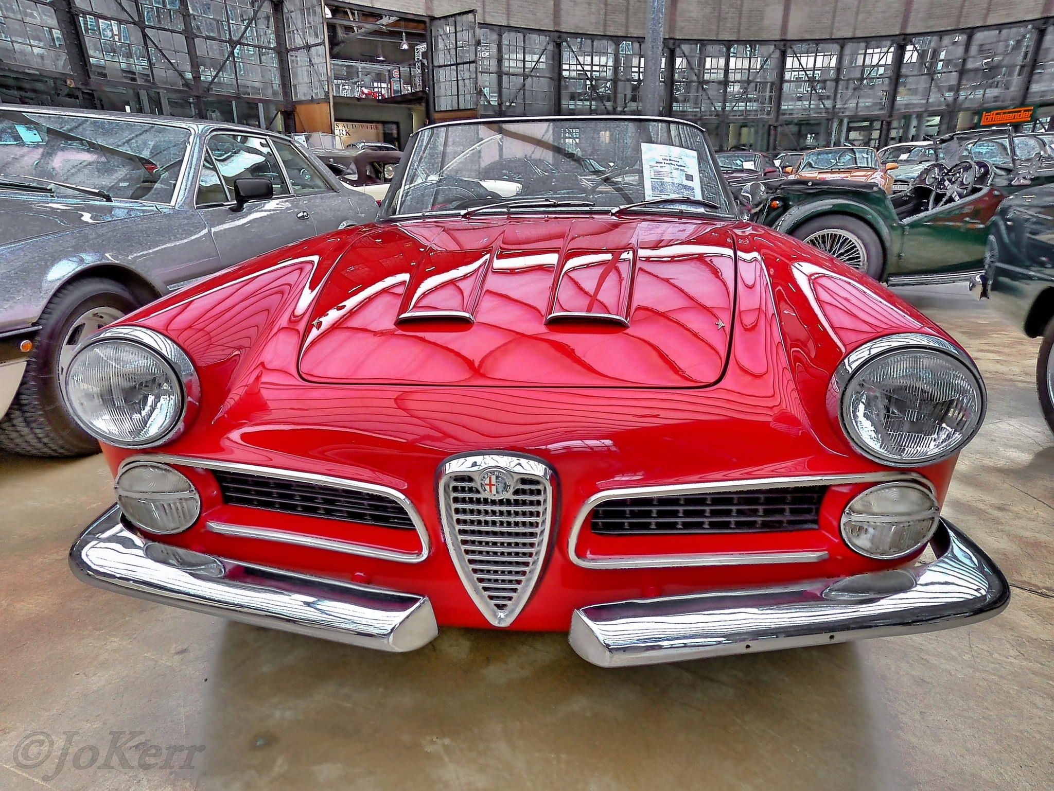 Photograph Alfa Romeo 2000 Spider by Jo Kerr on 500px