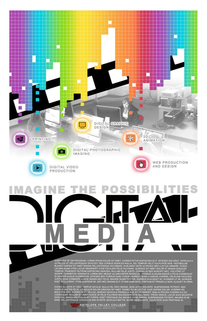 Digital Media Promo Flyer by ~MuEnLi on deviantART | Digital Art ...