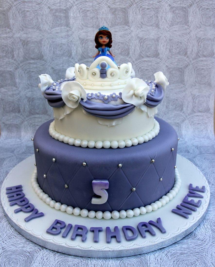 Princess Sofia Birthday cake httpwwwmosbespokecakescouksofia