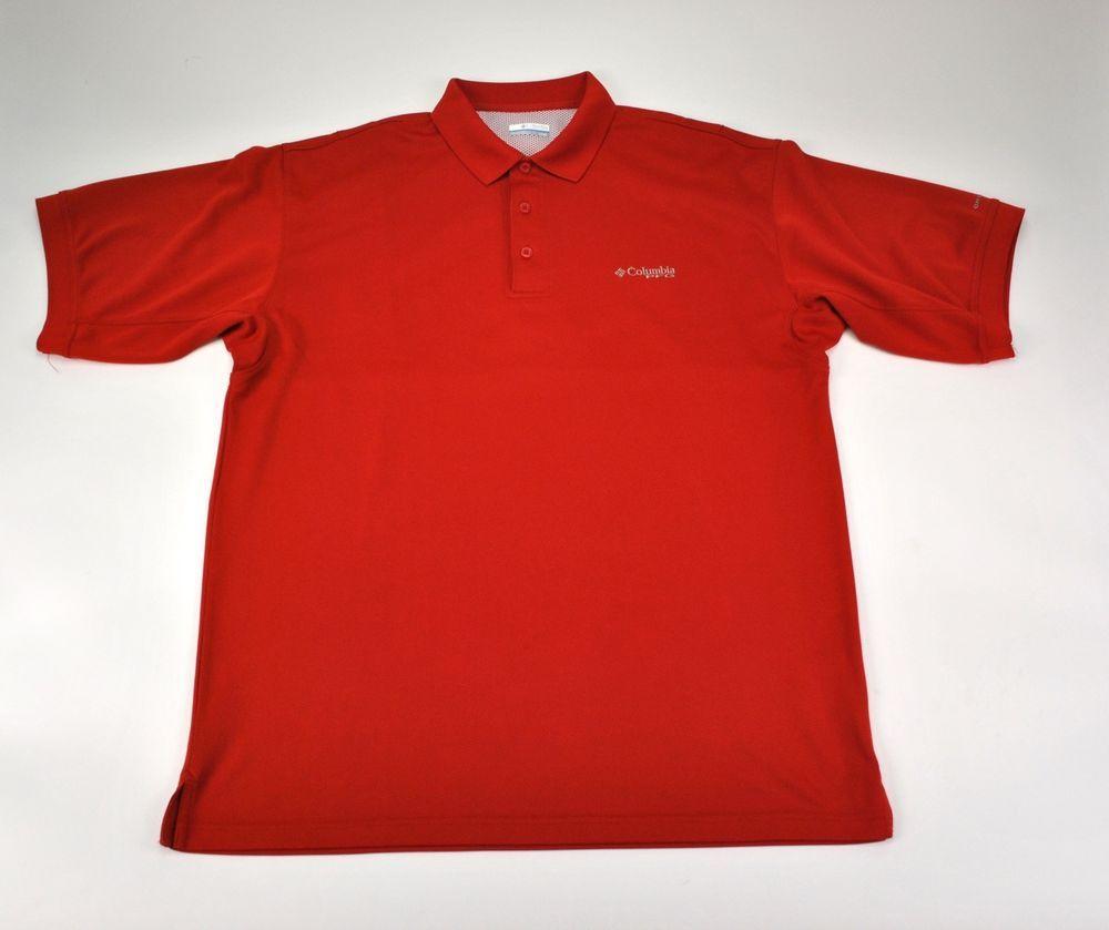 Columbia Performance Fishing Gear PFG Omni Shade Mens Polo Shirt ...