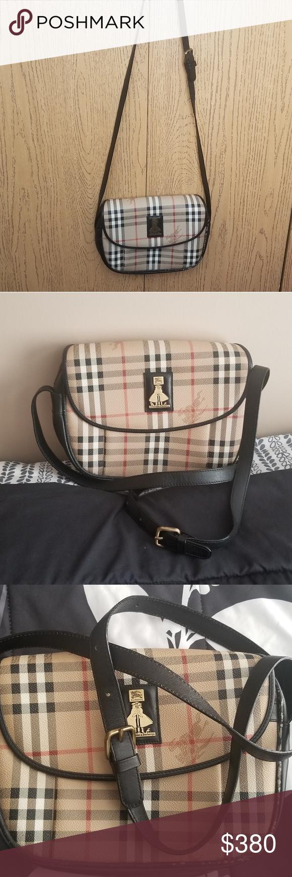 Burberry crosbody bag Authentic Preloved,vintage Has signs