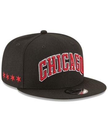 3b3c2c63e05bd New Era Chicago Bulls Statement Jersey Hook 9FIFTY Snapback Cap - Black  Adjustable