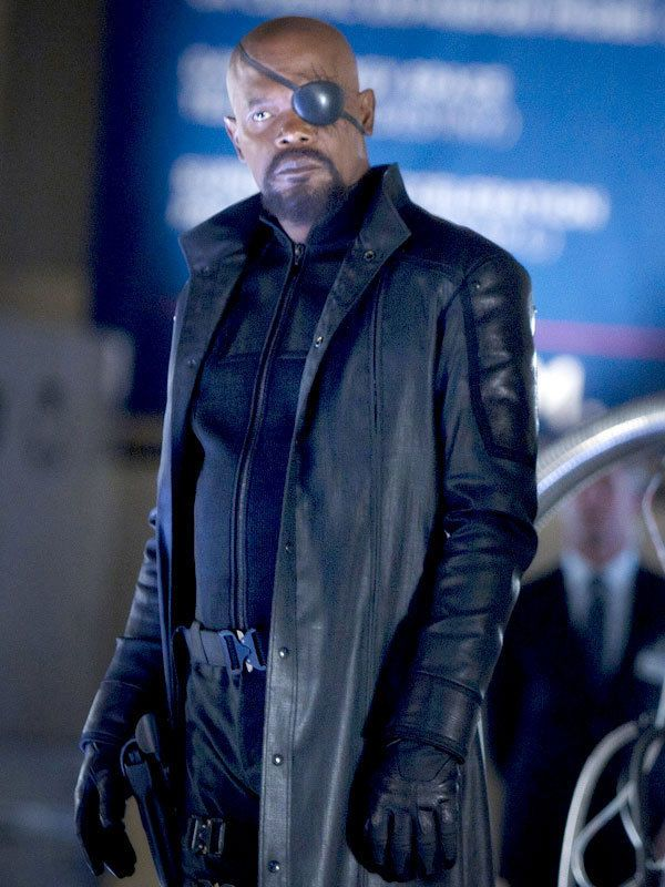 6d22b6c8d2e World Leather Outfitters created Nick Fury Captain America The Winter  Soldier Black Real Leather Coat for all fashionable boys at Black stylish  color.