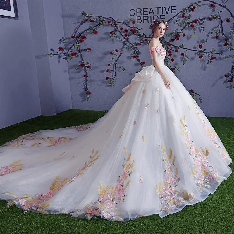 Pin On Wedding Gowns From Dreambrides Net