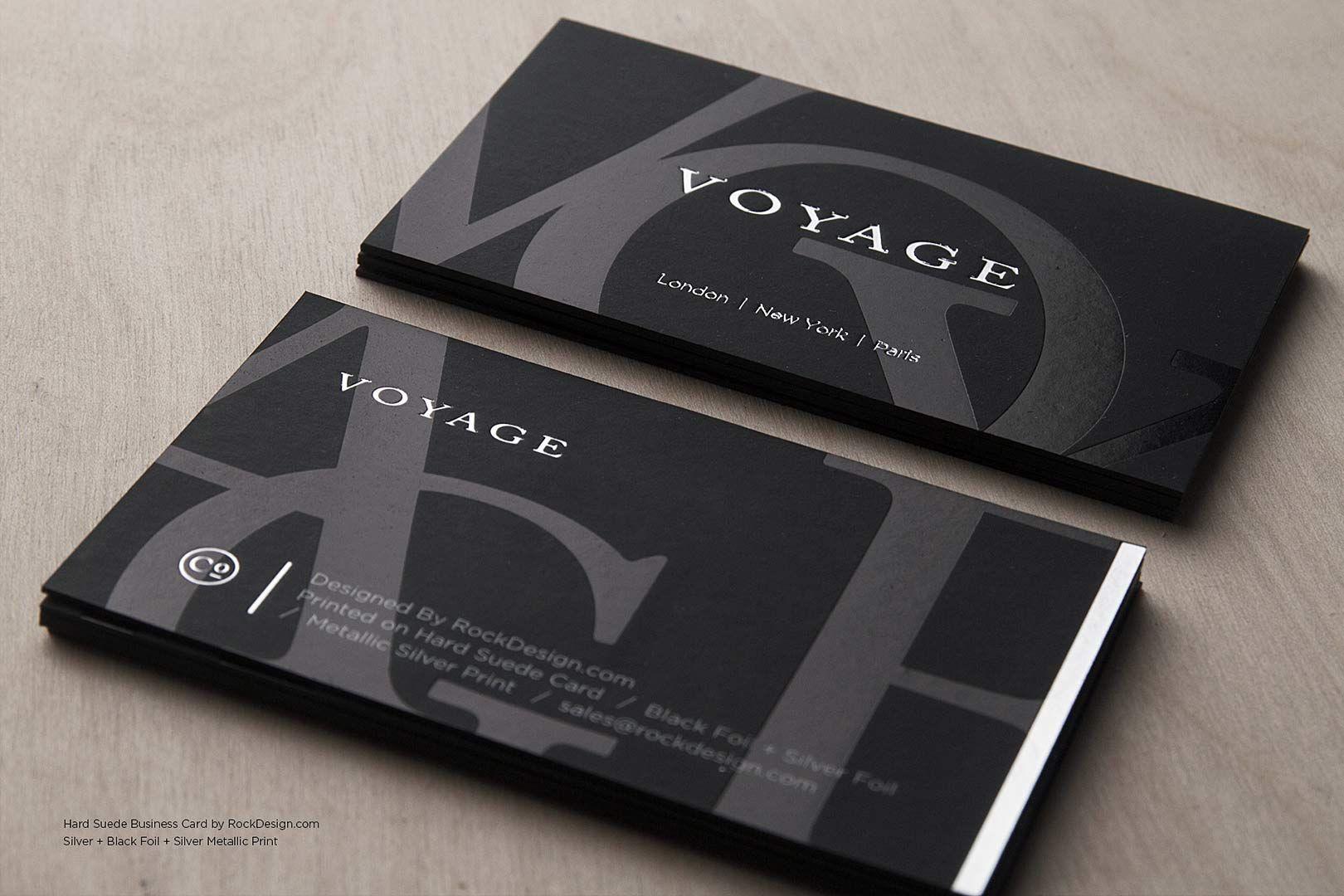 Hard Suede Business Card Design 10 Business Pinterest Luxury