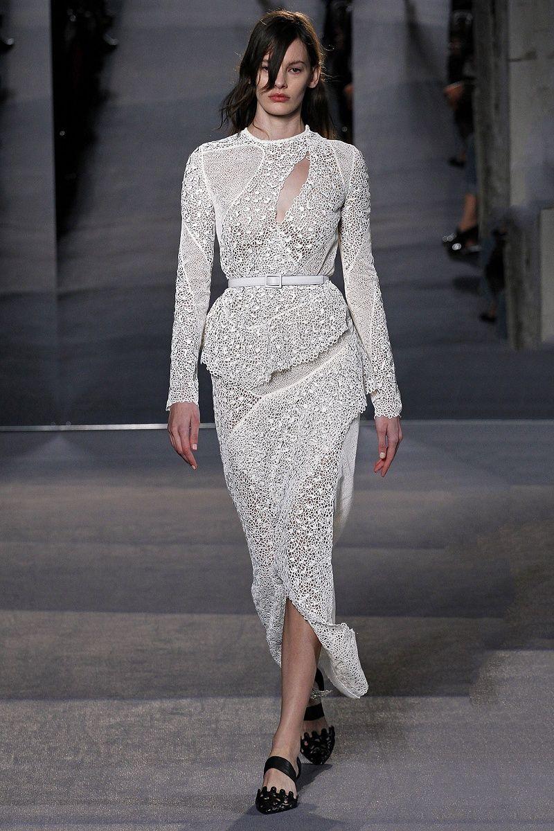 Proenza Schouler Wedding Dress White Proenzaschouler