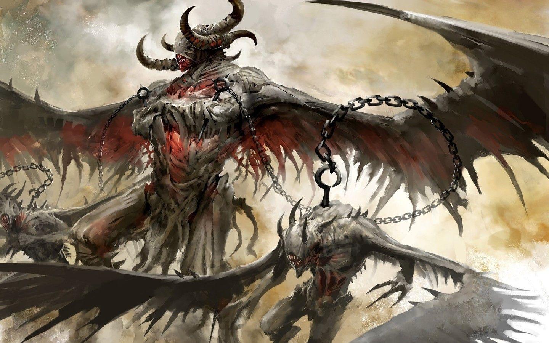 Satan Fantasy Art