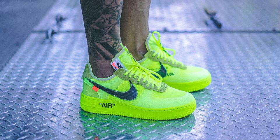 Early On Foot Look at the Off White™ x Nike Air Force 1