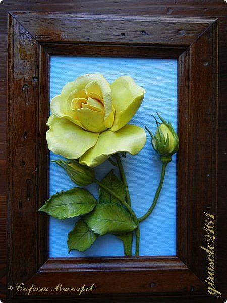Холодный фарфор своими руками цветы для начинающих фото 405