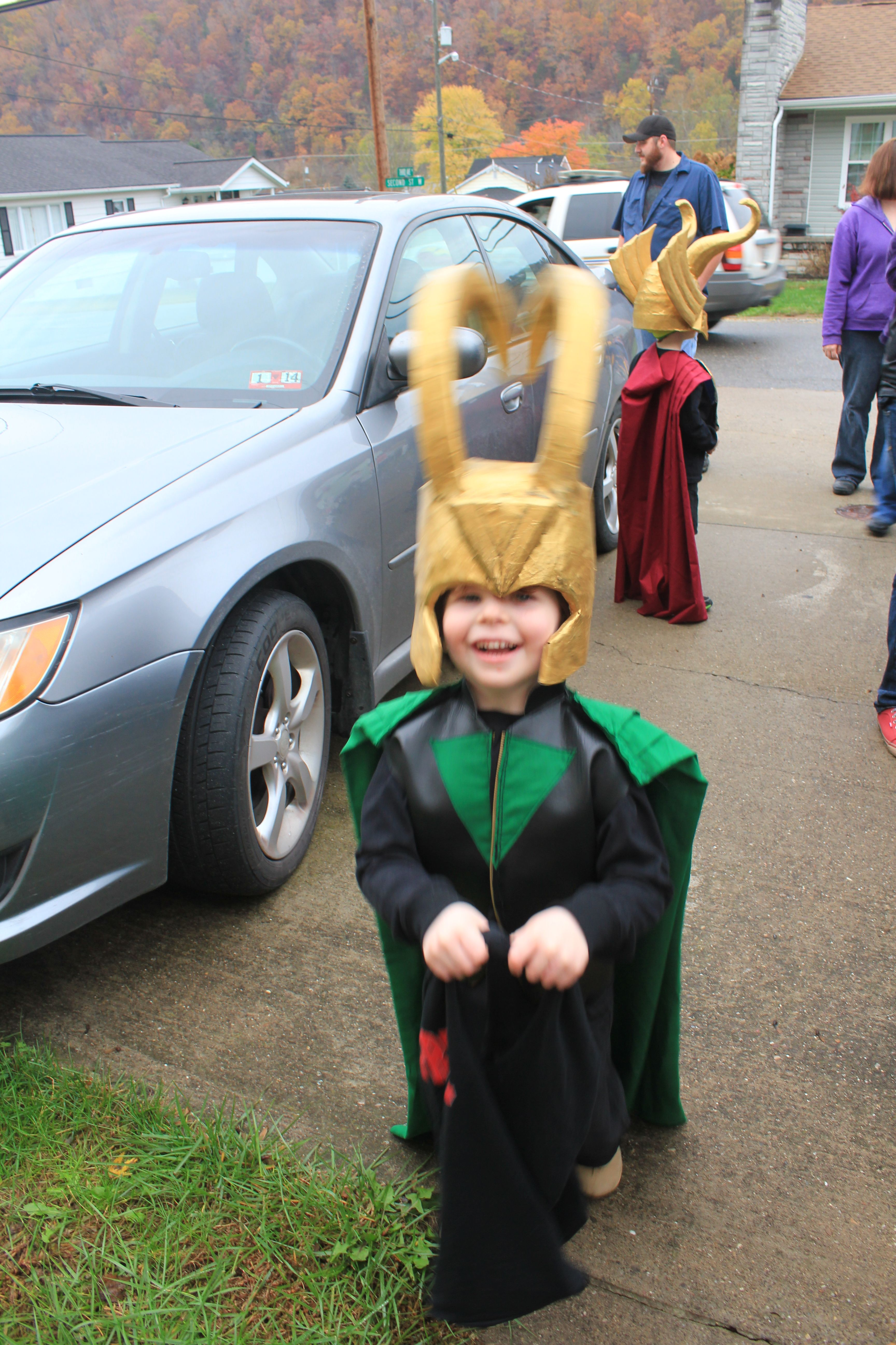 kids loki costume from scratch crafts loki costume