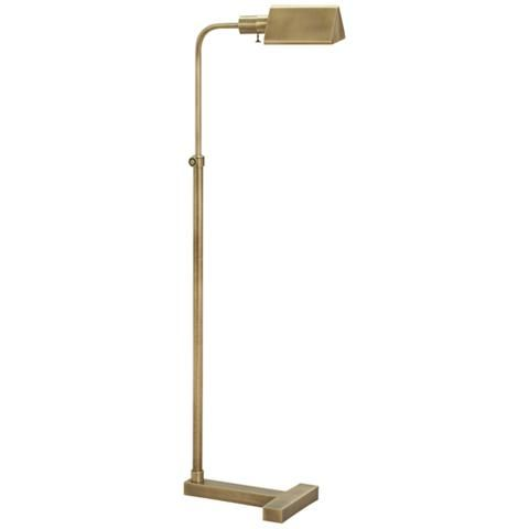 Fairfax adjustable antique brass pharmacy floor lamp style 1d677 fairfax adjustable antique brass pharmacy floor lamp 1d677 lamps plus aloadofball Gallery