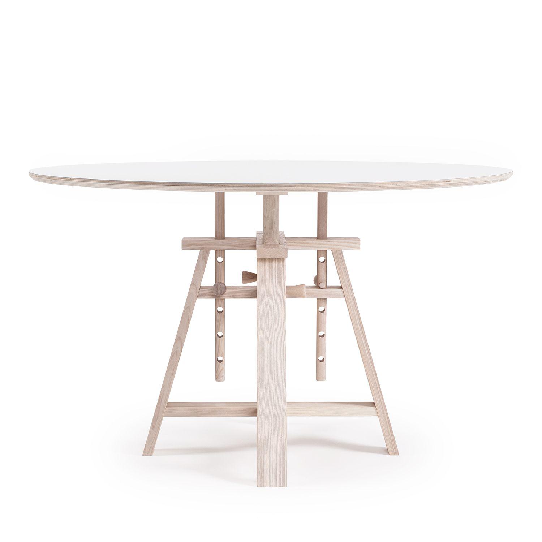 Astructure pöytä Ø120, valkoinen ryhmässä Huonekalut / Pöydät / Ruokapöydät @ ROOM21.fi (Astructure8)