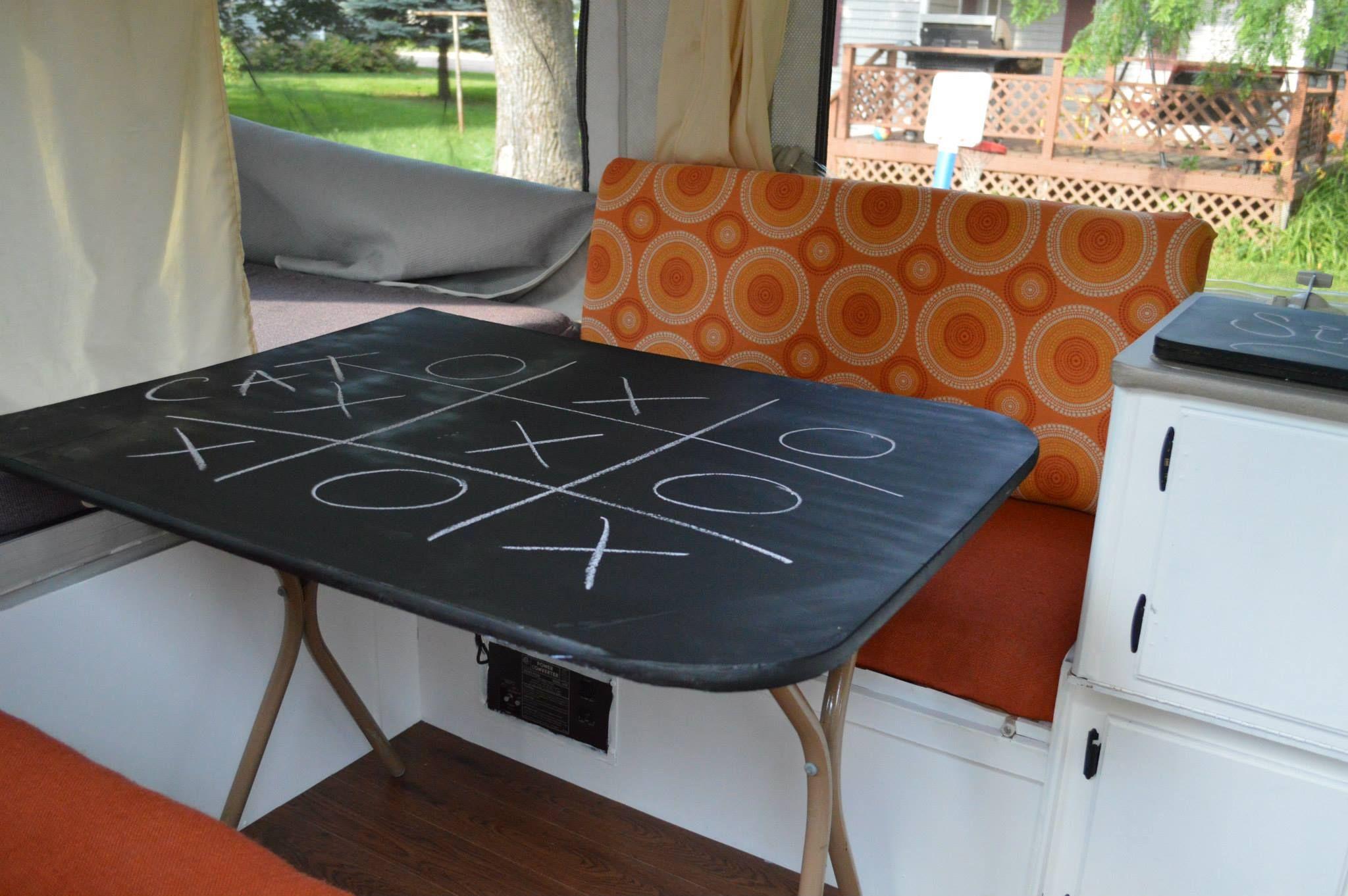 The Pop up Post | Camper Ideas | Camper hacks, Popup camper
