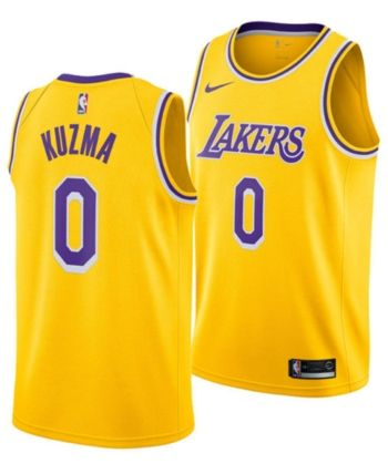 buy popular f2550 7fd7e Nike Men's Kyle Kuzma Los Angeles Lakers Icon Swingman ...
