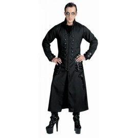 Manteau long gothique homme grande taille
