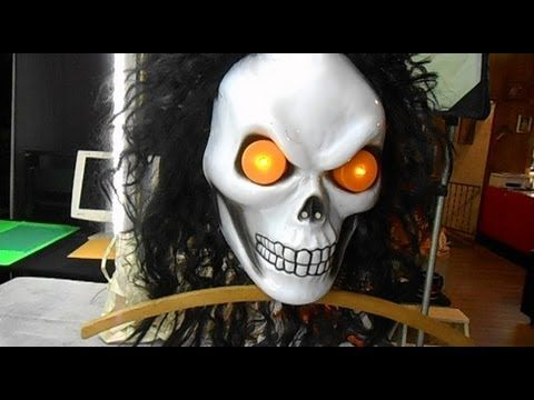 creepy animated diy halloween prop build part 1 youtube this whole mask might - How To Make Animated Halloween Props