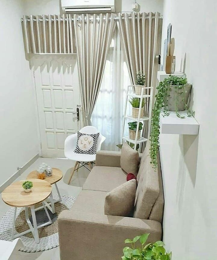 Ide Desain Interior Ruang Tamu Kecil Minimalis Interior Design Living Room Small Home Room Design Small House Interior