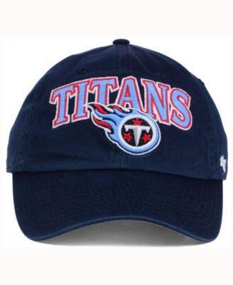 reputable site 019d5 139c2  47 Brand Tennessee Titans Altoona Clean Up Cap - Blue Adjustable.