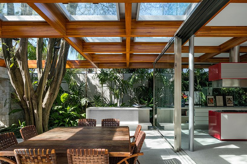 perkins + will builds a tropical house around a tree in são paulo on sandbag house designs, purple house designs, revit house designs, google house designs, adobe house designs, sun house designs, amazon house designs, sugar house designs, sage house designs, stone house designs, australian house designs, autocad house designs, autodesk house designs, tap house designs, multiple four storey house designs, asp.net house designs,