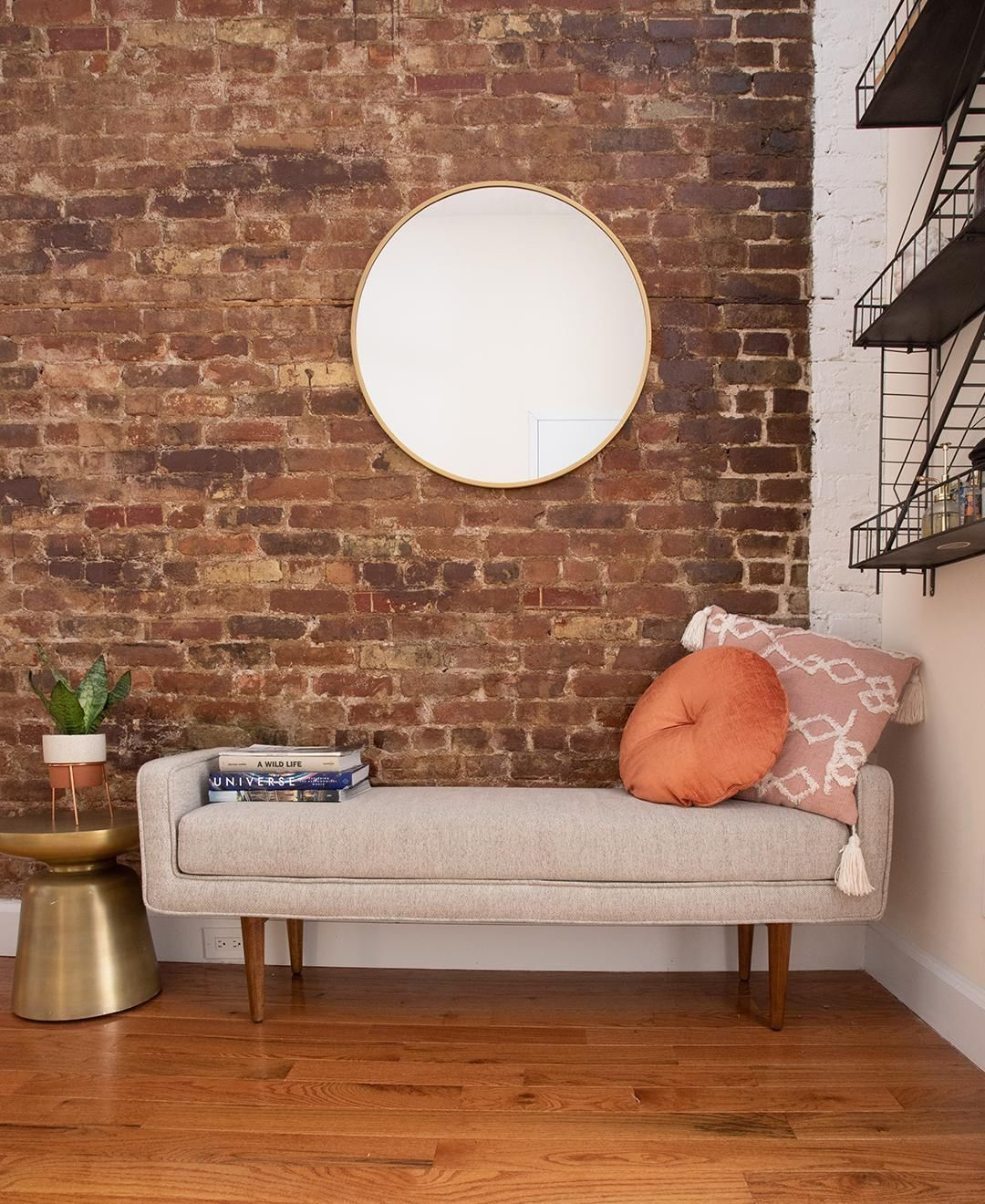This warm East Village, NYC home is full of fun Craigslist