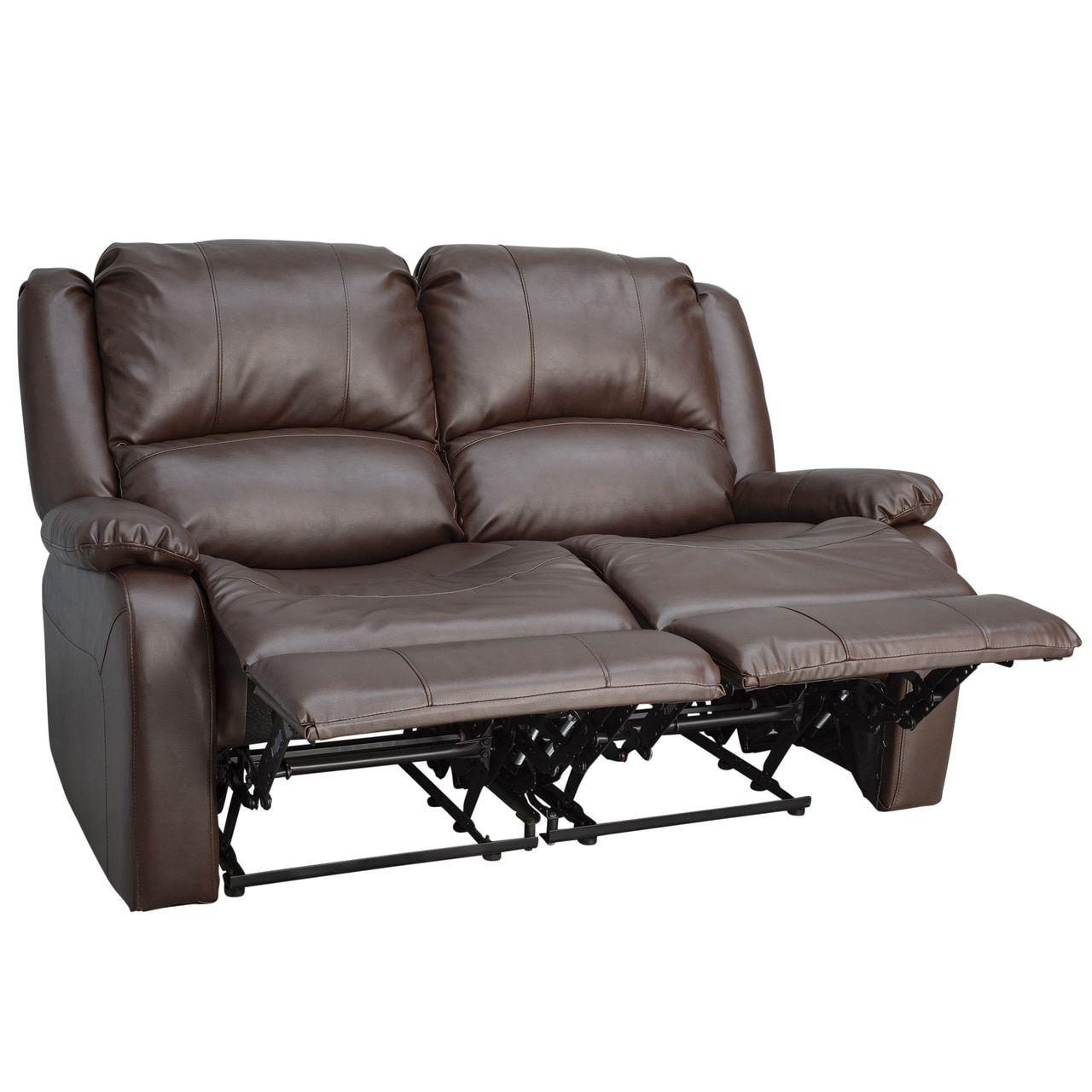 Fabulous Charles 58 Double Rv Wall Hugger Recliner Sofa Rv Loveseat Ncnpc Chair Design For Home Ncnpcorg