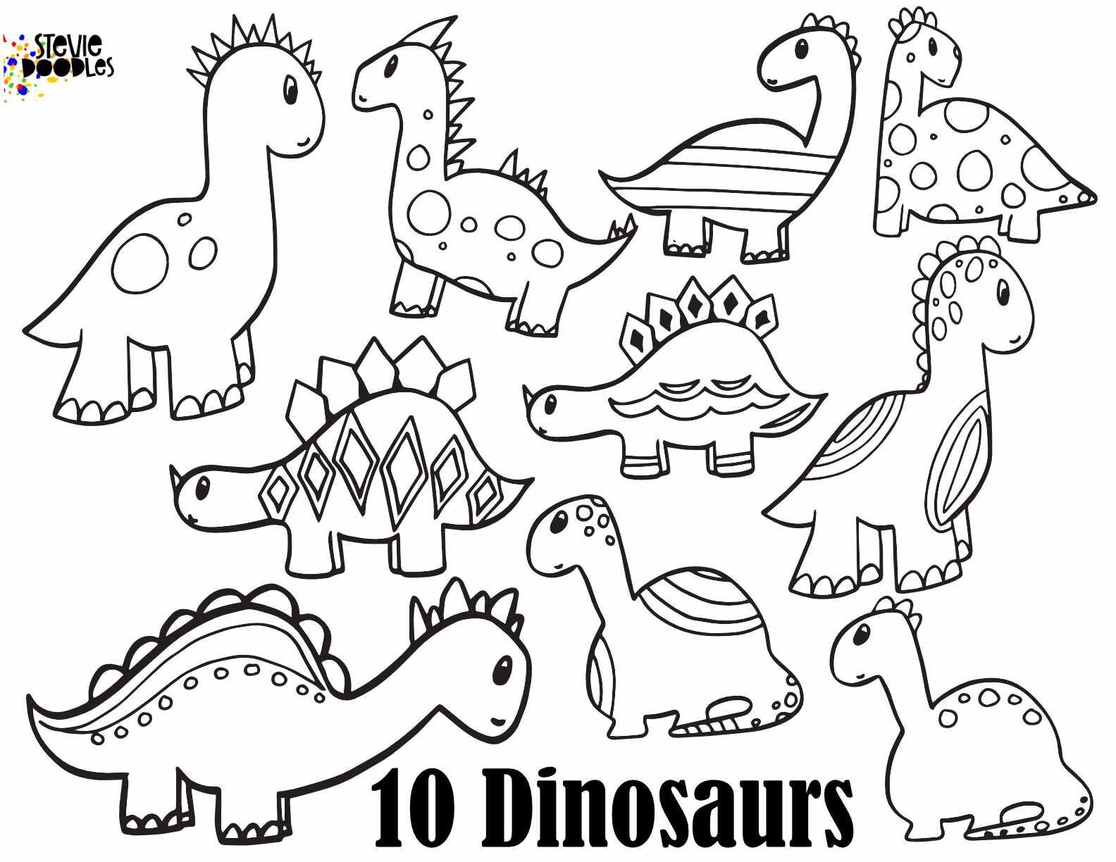 DINOSAUR NUMBERS Free Numbers 1 10 printable dinosaur