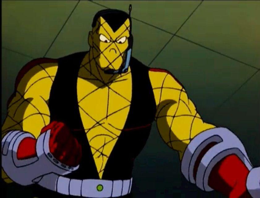 shocker from the 90s spiderman cartoon geeky stuff