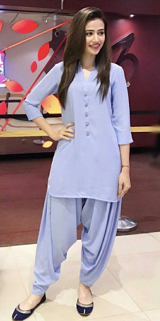 8799e1fd02 Sana javed Punjabi Dress, Punjabi Salwar Suits, Pakistani Suits, Pakistani  Dresses, Indian
