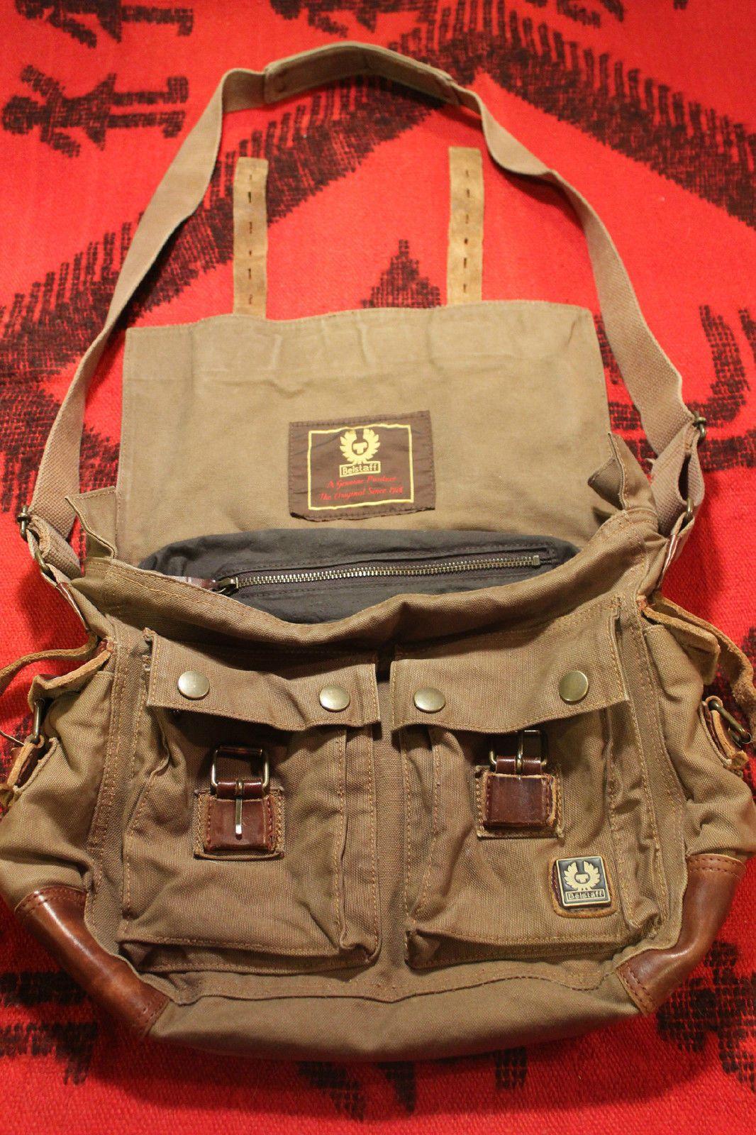 ffd493967c9 Belstaff Messenger Bag (Men s Pre-owned 554 Colonial Brown Shoulder Bag)