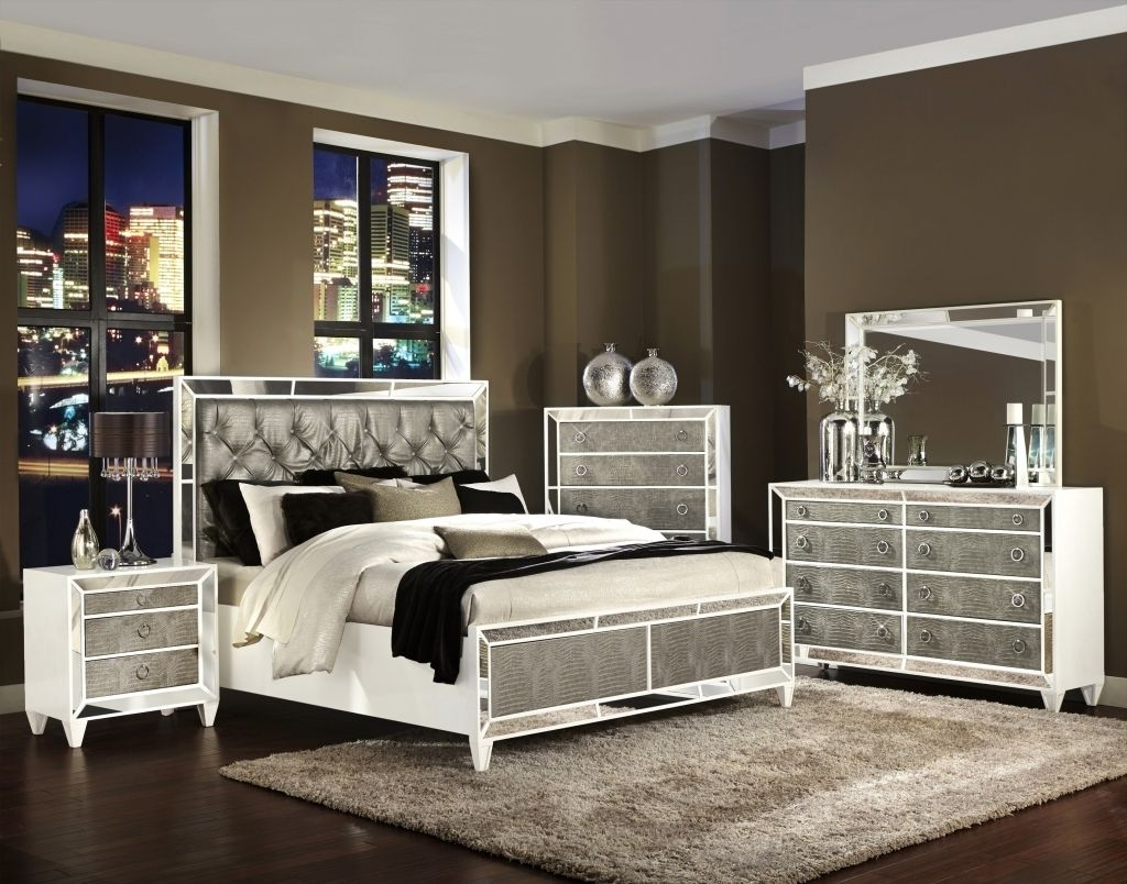 Stunning Mirrored Bedroom Furniture Bedroom Sets Furniture