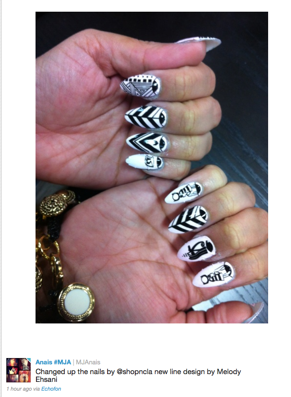 Samirah is all about expressive nails. Part of her persona | SAMIRAH ...