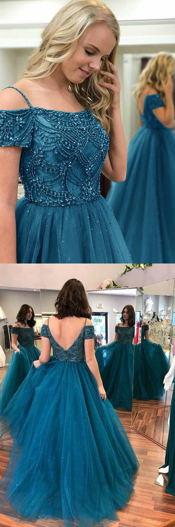 Customized Outstanding Prom Dresses 2018 Ball Gown Off-the-Shoulder ...