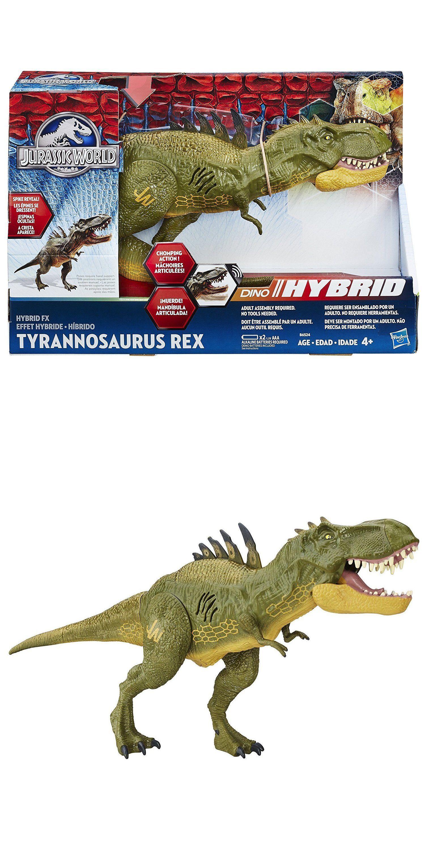Big Dinosaur Toys Jurassic World Kids Fun Gift Hybrid FX TRex Figure For Boys