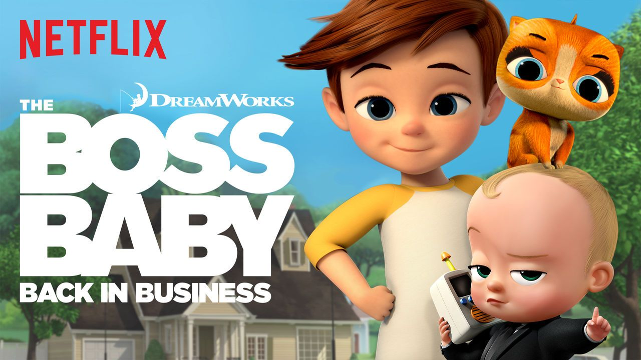 Image result for netflix boss baby back in business