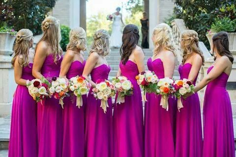 Beautiful picture for bridesmaids!