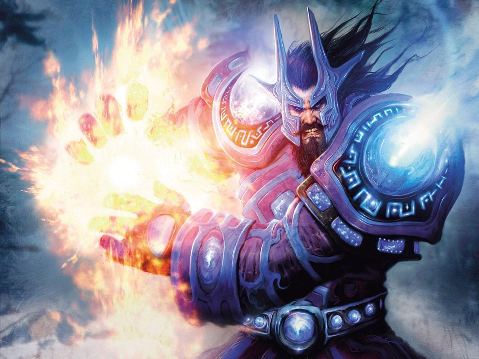 World Of Warcraft Mage Desktop Wallpaper World Of Warcraft Wallpaper World Of Warcraft Game Warcraft Art