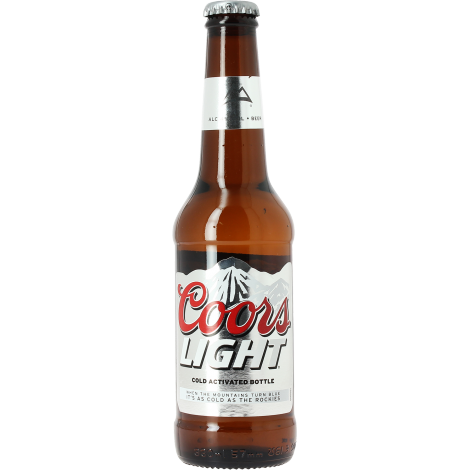 Coors Light Blond Lager Beer Golden Robe Aromas Of Apple Banana Coors United States Lager Beer Coors Light Beer Can Beer