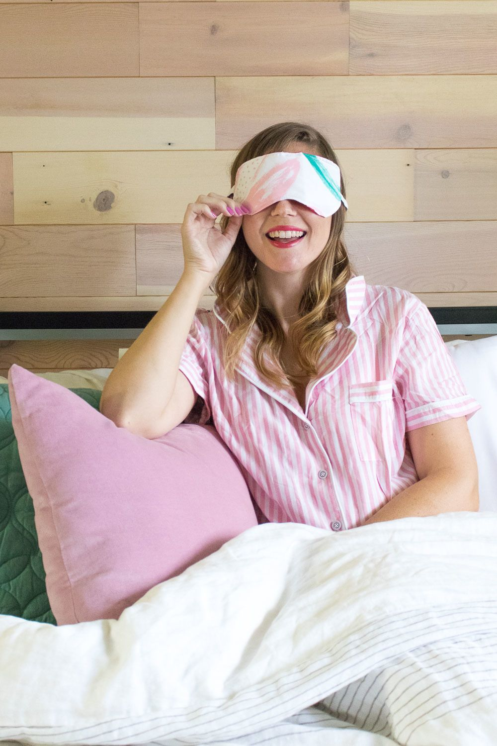 How to Sew a Simple Eye Mask